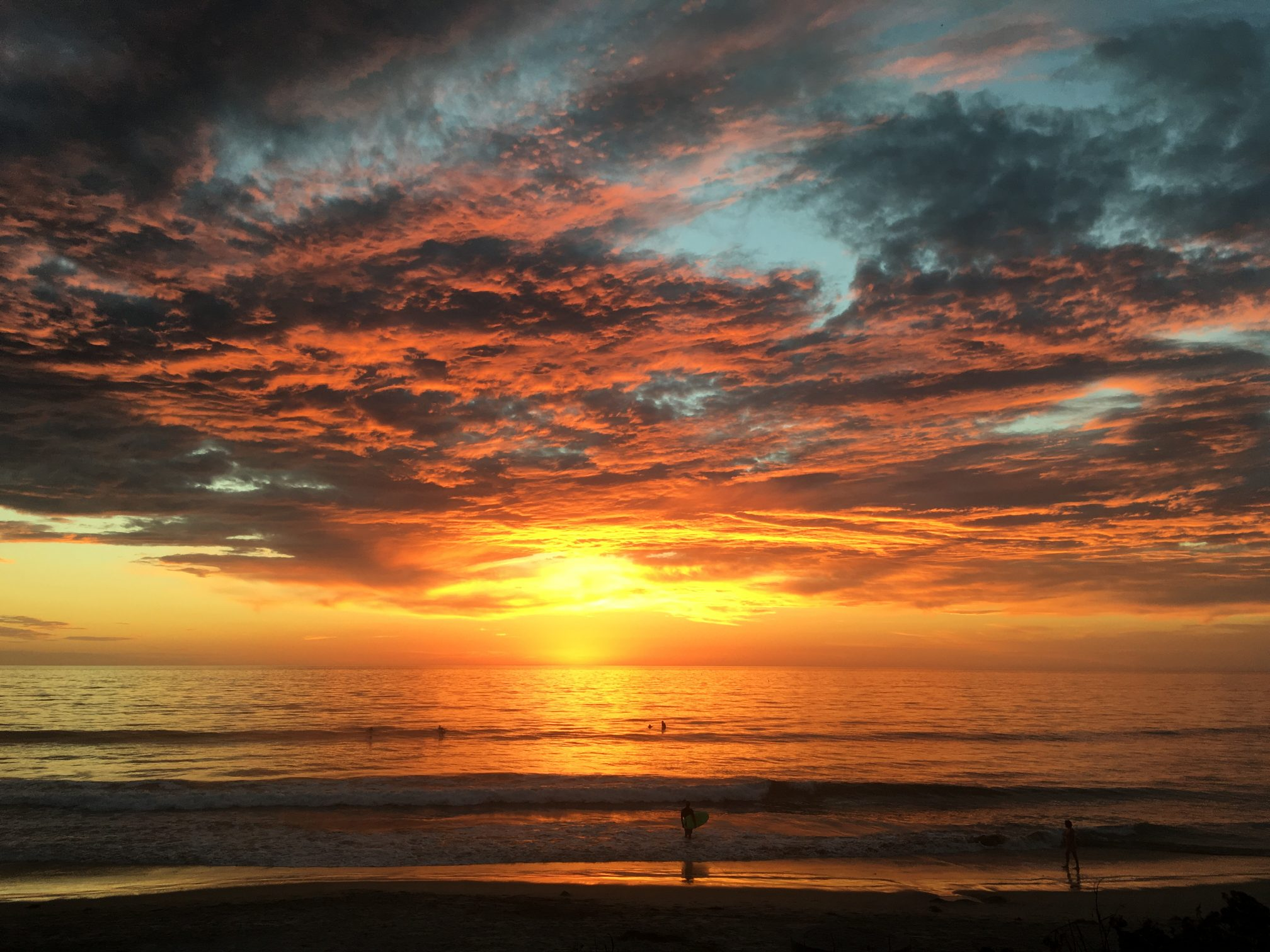 Sunset at Del Mar California - Business Optimization